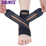 Jual Aolikes A 7126 Outdoor Sports Safety Ankle Pad Protector Bandage Breathable Elastic Brace Guard Support Indonesia Murah