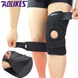 Promo Aolikes Left Knee 1 Piece Sports Knee Pads Four Springs Support Eva Breathable Brace Knee Protector Kneepad Ginocchiere Intl Akhir Tahun