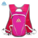 Spek Aonijie Outdoors Backpack 5 5L Hidrasi Pack Untuk Menjalankan Naik Pink Intl
