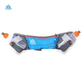 Ulasan Aonijie Reflective Waist Bag With Two 250Ml Water Bottle Blue Intl