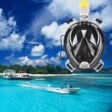 Beli Barang Ah 72 41 Wajah Penuh Masker Snorkeling Untuk Pergi Pro Kamera L Xl Hitam International Online