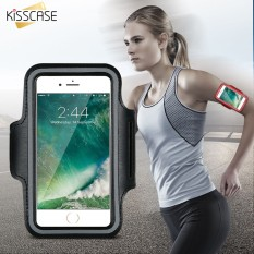 ARMBAND Sport Case For Jogging GYM FITNESS CASING LENGAN HP WATERPROOF QUALITY SUPER MURAH ( Green)