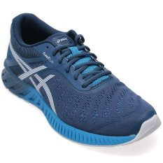 Review Asics Fuzex Lyte Ink White Methyl Blue Di Indonesia