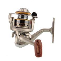 Cara Beli Aukey 6 Bb Berputar Putar Kumparan Peralatan Penangkapan Ikan Gulung Aluminium Sg1000A