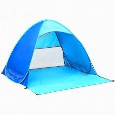 Jual Tenda Otomatis 2 3 Orang Camping Hiking Memancing Biru Tiongkok Murah