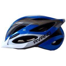 Jual Beli Avand A06 Bikes Helmet Helm Sepeda Biru Putih Indonesia