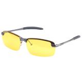 Review Azone Lensa Night Vision Mengemudi Kacamata Goggles Mengurangi Silau Kuning Terbaru