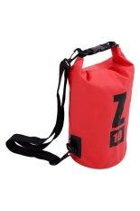 Jual Azurbali Waterproof Sling Bag 10L Red Termurah