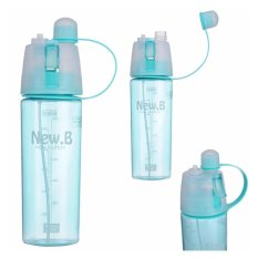 Babamu Botol Olahraga Spray - New Arrival 600ml Bottle NEW.B Sport Water Bottles / Biru