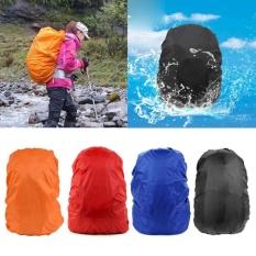 Backpack Raincoat Cocok untuk 30-40L Kain Tahan Air Hujan Meliputi Perjalanan Camping Hiking Outdoor Luggage Bag Jas Hujan-Intl