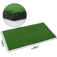Diskon Halaman Belakang Golf Mat Residential Latihan Memukul Pad Praktek Karet Tee Holder Intl Oem