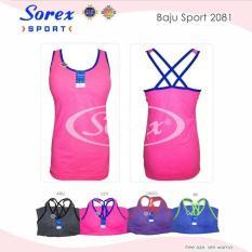 Baju Kaos Singlet Sport Senam Stylish Sorex 2081 Terbaru - 7Ebcc7
