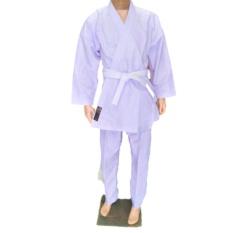 Baju Karate Anak-Anak Warrior Ori Cap WKF Bahan Polyster Size 7 Junior