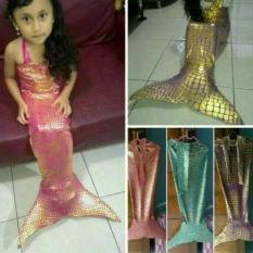 Baju Mermaid Sisik/Putri Duyung/Renang Anak