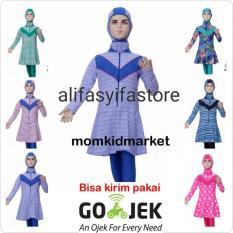 Baju Renang Anak Sd Muslim Muslimah Cewek Ml-Tg (Umur 5 Sd 10 Tahun) - 97Ddce