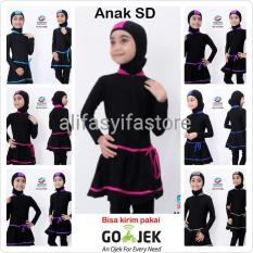 Baju Renang Anak Sd Muslimah Ml-Tg-P (Umur 5 Sd 10 Tahun) - Eaeabb