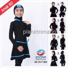 Baju Renang Anak Sd Muslimah Muslim Wanita Perempuan Cewek - Ed3365