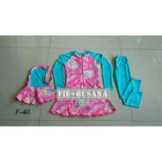 Baju Renang Muslim Anak Usia 5 Sd 9Th - Cd5575