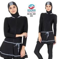 Baju Renang Muslim Wanita Muslimah Dewasa Edora Es Ml Dw - 395557