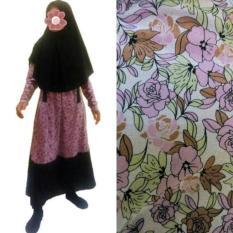 Baju Renang Muslimah Syari Big Size Jumbo Rok Panjang Belah Samping - Ca99ea