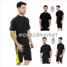 Baju Renang Pria Dewasa Atas Bawah Celana Pendek Dv-Dw-Ab-029 - 56D967
