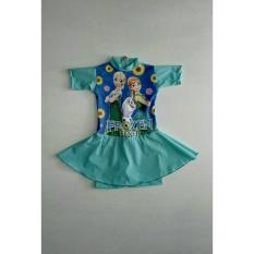 Baju Renang Rok Anak 2-4 Tahun New Frozen - 7Ac9d6
