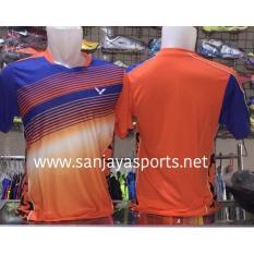 Baju Victor Impor Malaysia Orange - 33E9E6