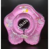Spesifikasi Ban Leher Bayi Ring Renang Pelampung Bayi Warna Pink Baru