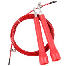 Bang Lompatan Kebugaran Tali Universal Bantalan Steel Adjustable Pegangan Panjang Tali Lompat-Intl