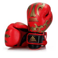 Bang New Mma Ufc Sparring Grappling Boxing Fight Punch Ultimate Mittsleather Gloves For Boxing Training (Red) - intl