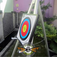 Jual Bantalan Face Target 40X40X3Cm Bergaransi Alas Karet Sasaran Arrow Busur Anak Panah Panahan Original