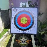 Jual Bantalan Face Target 50X50X6Cm Bergaransi Alas Karet Sasaran Arrow Busur Anak Panah Panahan Archery Universal Murah