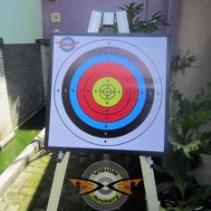Spesifikasi Bantalan Face Target 50X50X6Cm Bergaransi Alas Karet Sasaran Arrow Busur Anak Panah Panahan Archery Lengkap