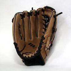 Sarung Tangan Baseball Kulit Barnett SL-125, Outfield, Ukuran 12,5, REG, Brown-Intl