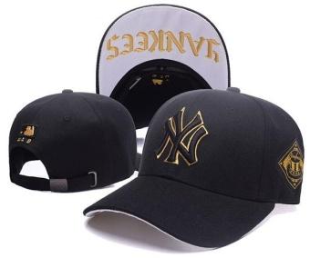 Pencarian Termurah Bisbol Topi Pria Wanita Sneaker Fashion Kilas Balik MLB Unisex New York Yankees Sport Topi Tabir Surya Sederhana Modis (Hitam)-Intl harga ...