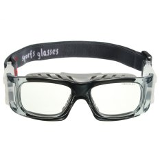 Basket Bersepeda Sepak Bola Olahraga Kacamata Pelindung Mata Kacamata Pengaman (Grey)