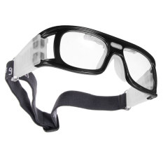 Basketball Soccer Football Sports Protective Elastic Goggles Eye Safety Glasses Black