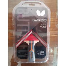 Jual Bat Tenis Meja Merk Butterfly Tipe Stayer 3000 Original Lengkap