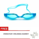 Jual Beauty Kacamata Renang Dewasa Anti Fog Anti Uv Shield *D*Lt Protection Swimming Goggles Waterproof Adjustable Swim Glasses For Girls Boys Kaca Mata Renang Dewasa Kacamata Renang Warna Free Tutup Telinga Karet Biru Beauty Asli