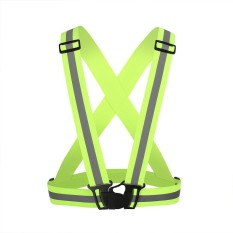 Diskon Besarbellamall Motor Lari Bersepeda Bersepeda Terang Tinggi Adjustable Reflective Vest Intl