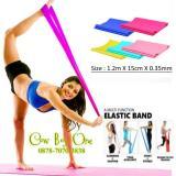 Best Seller Yoga Resistance Band Pilates Elastic Band Kotak 35Mm Ad3A53 Diskon Dki Jakarta