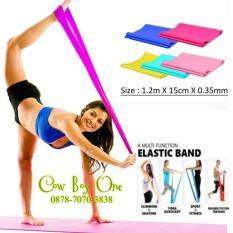 Toko Best Seller Yoga Resistance Band Pilates Elastic Band Kotak 35Mm Ad3A53 Murah Di Dki Jakarta