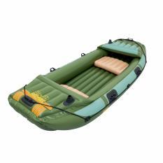 Bestway Neva Iii Campro Boat (hijau) Perahu Karet Pompa Dewasa 65008 By Sportsite.