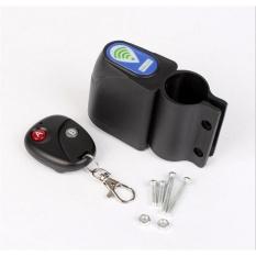 Aksesoris Sepeda Alarm Anti Maling Remote Control Alarm Elektronik Peralatan dengan Remote Control-Intl