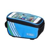 Beli Sepeda Sepeda Bingkai Depan Tabung Tahan Air Ponsel Blue5 0Inch Dengan Kartu Kredit