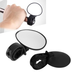 Review Bicycle Mirror Universal Adjustable Cycling Rear View Convex Mountain Bike Hand Intl Agbistue Di Tiongkok