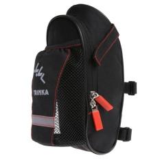 Review Bicycle Saddle Bag With Water Bottle Pocket Mtb Bike Rear Seat Tail Bags Intl Oem Di Tiongkok
