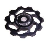 Situs Review Bike 11 T Rear Derailleur Pulley Roller Idler Keramik Bearing Jockey Wheel P Hitam