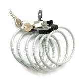 Toko Bike Acc Spiral Lock Silver Kunci Spiral Sepeda Termurah
