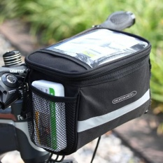 Bike Bicycle Cycling Outdoor Front Basket Pannier Frame Tube Handlebar Bag - Intl By Joyonline.